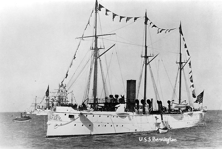 The importance of training USS-Bennington-1890