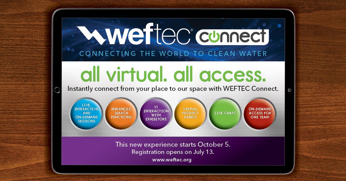 WEFTEC 20 Virtual Conference