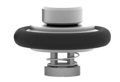 Vacuum Flange Insert Check Valve Style – VI