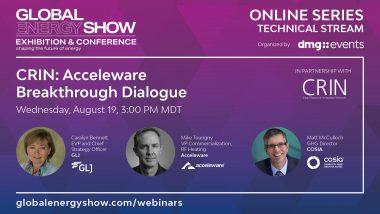 Global energy show CRIN: Acceleware Breakthrough Dialogue