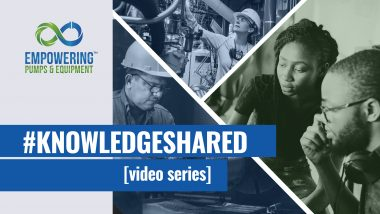 Knowledge Shared video series with the Submersible Wastewater Pump Association