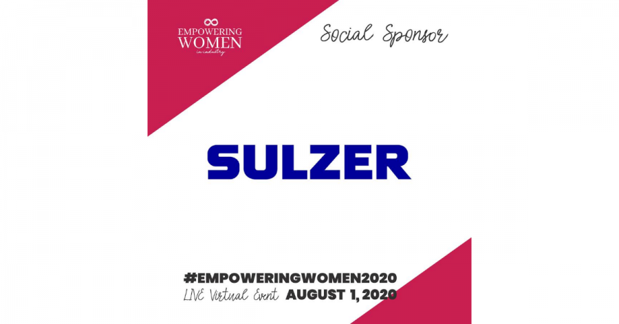 Sulzer Empowering Women in Industry event sponsor