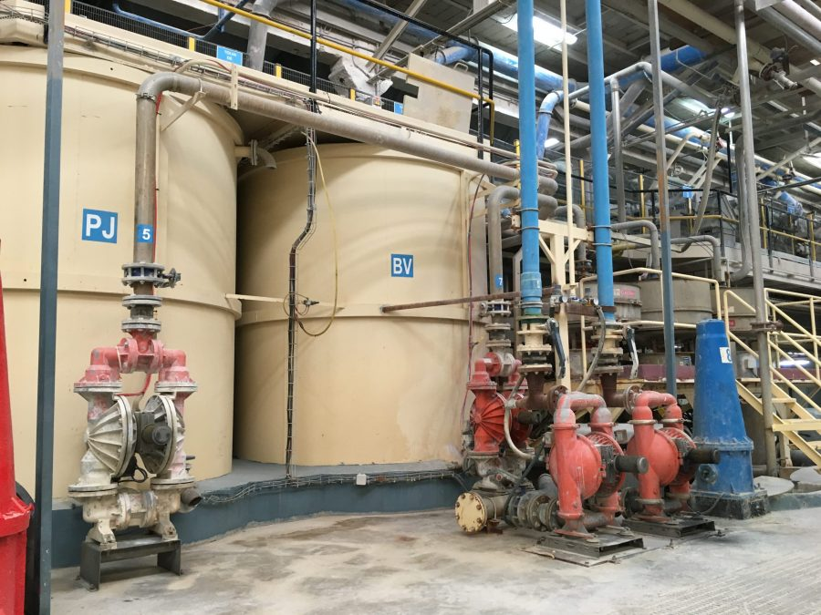PSG Wilden Some pump technologies are easy to install
