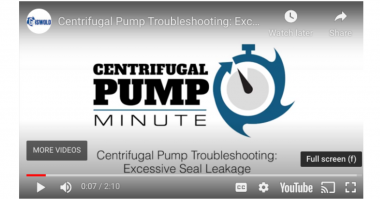 Centrifugal Pump Excessive seal leakage