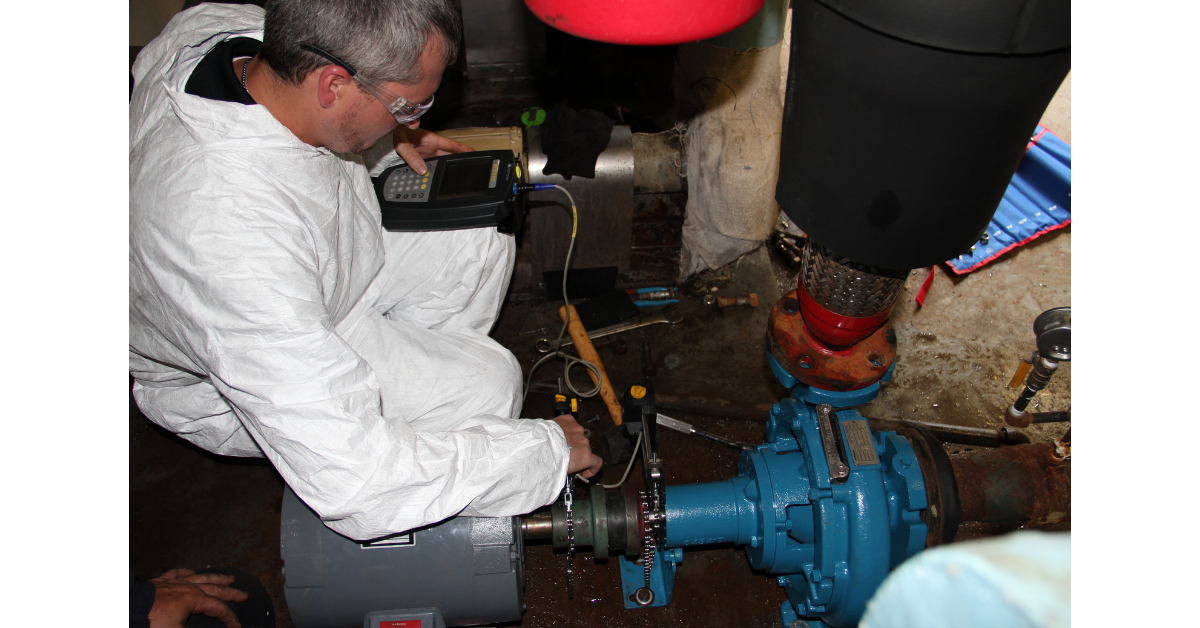 Crane pump installation