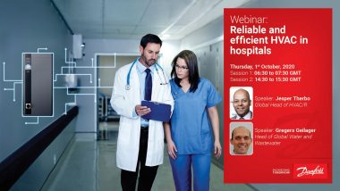 Danfoss Reliable and efficient HVAC in hospitals