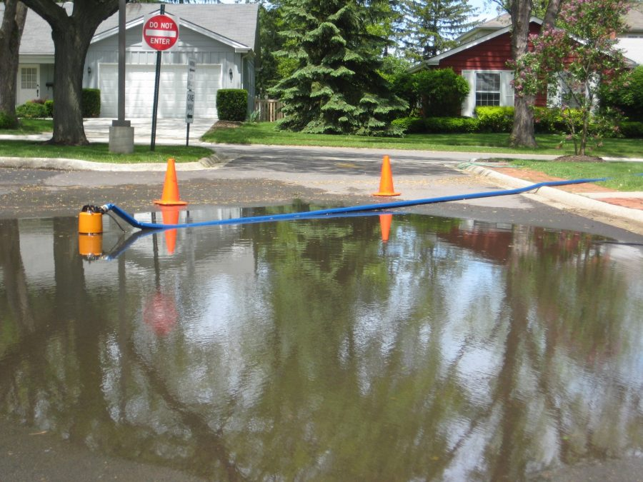 How Pump Companies Prepare for Natural Disasters Michelle Segrest Pumping flooded street