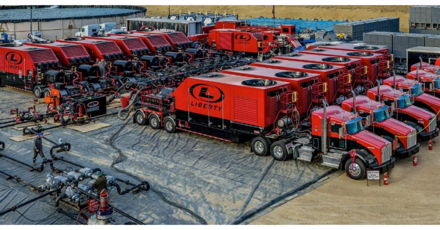 Liberty hydraulic fracturing business