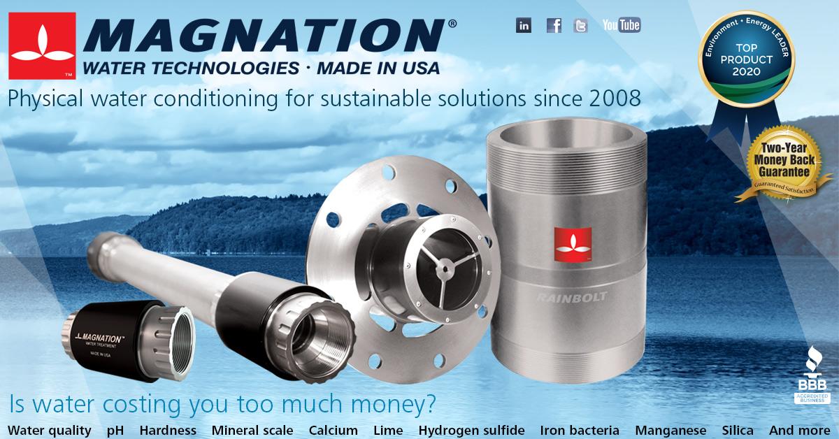 Magnation Water Technologies Rain Like Water