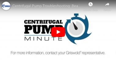 PSG Centrifugal Pump Minute bearings
