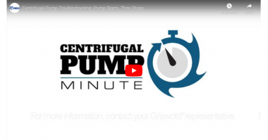 PSG Centrifugal pump minute