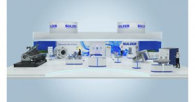 Sulzer online virtual exhibition stand