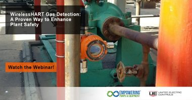 WirelessHART Gas Detection: A Proven Way to Enhance Plant Safety [On-Demand Webinar]