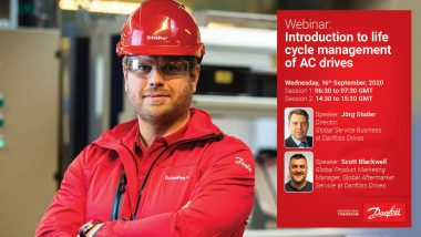 Danfoss Intro to life cycle management of AC drives