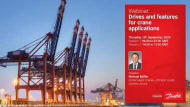 Danfoss Drives and features for optimizing crane operations