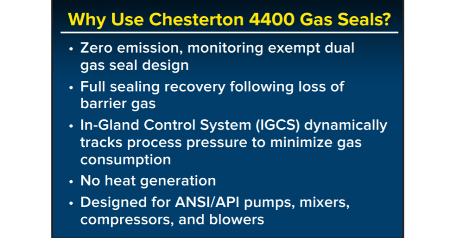 A.W. Chesterton Dual 4400 Concentric Gas Seal (1)