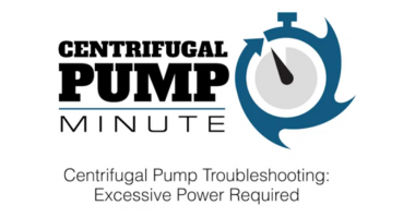 Centrifugal Pump Minute Excessive Power