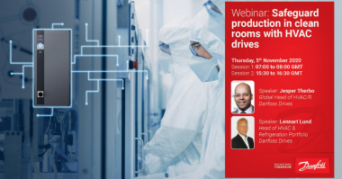 Danfoss Clean rooms hvac Webinar