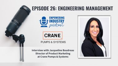 Engineering Management with Jacqueline Boudreau