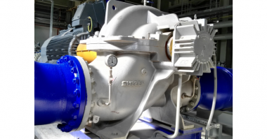Sulzer Closed-cycle cooling water pump power station.