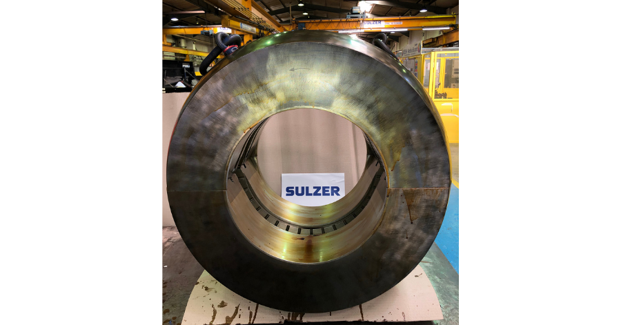 Sulzer With specialist facilities, Sulzer can remanufacture any size of white metal bearing white metal bearings
