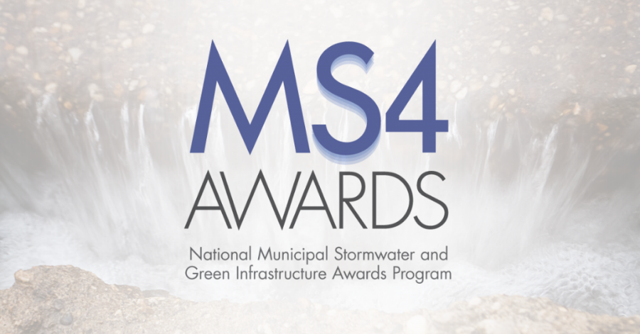 2020 National Municipal Stormwater and Green Infrastructure Awards.