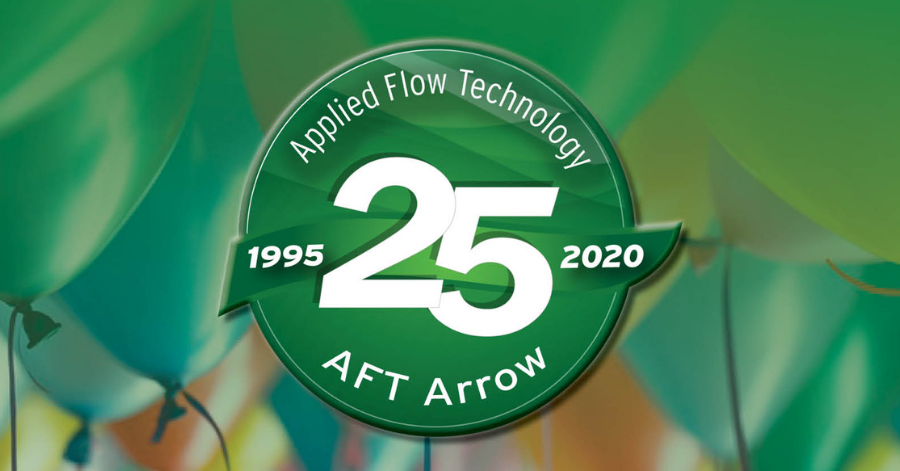 AFT Arrow 25yr flow analysis software