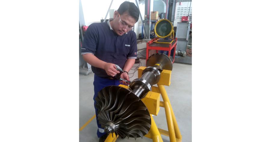 Sulzer Compressor repairs included precision remanufacturing fertilizer manufacturers