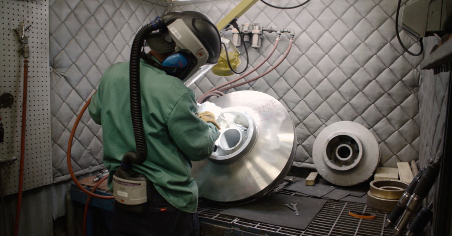 Sulzer Replacement impellers can now be manufactured quickly to minimize downtime