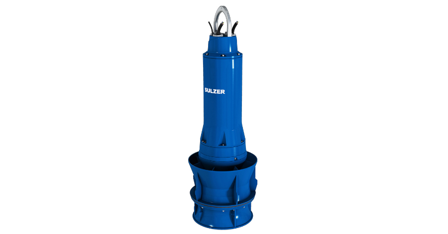 Sulzer Seven VUPX peak load pumps will be installed in the new pumping stations