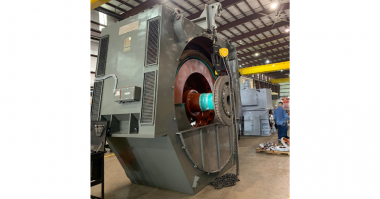 Sulzer The motor was delivered to Sulzer's service center in Pasadena Electromechanical Services