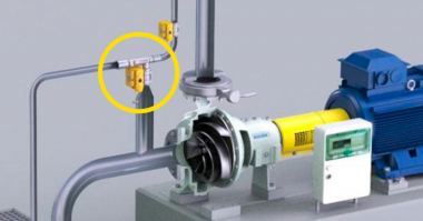Sulzer sump pumping with Sulzer's ejector