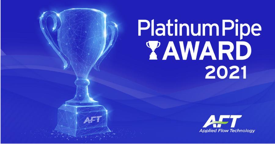AFT 2021 Platinum Pipe Award Winning Entries