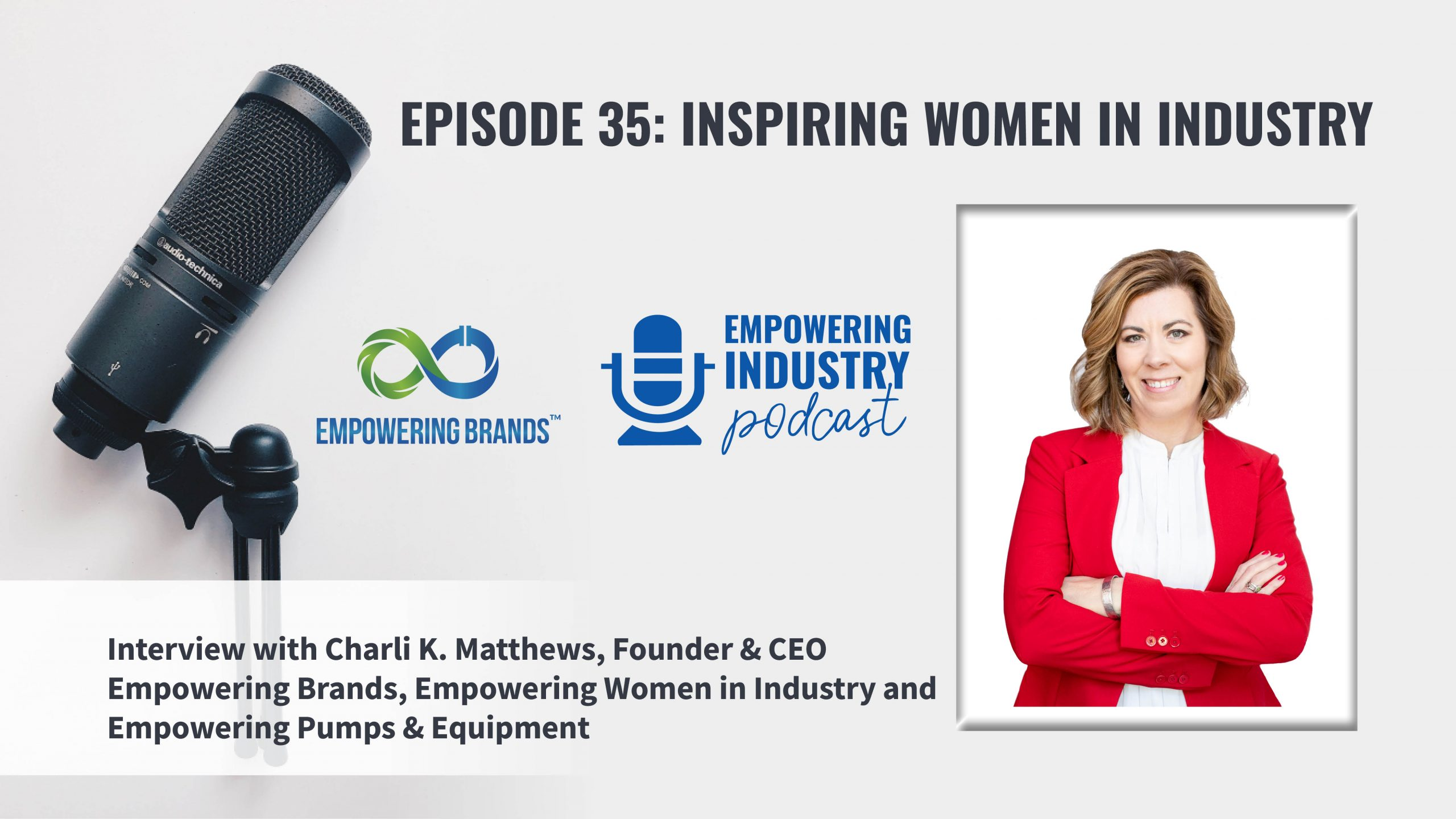 Empowering Industry Podcast with Charli K Matthews