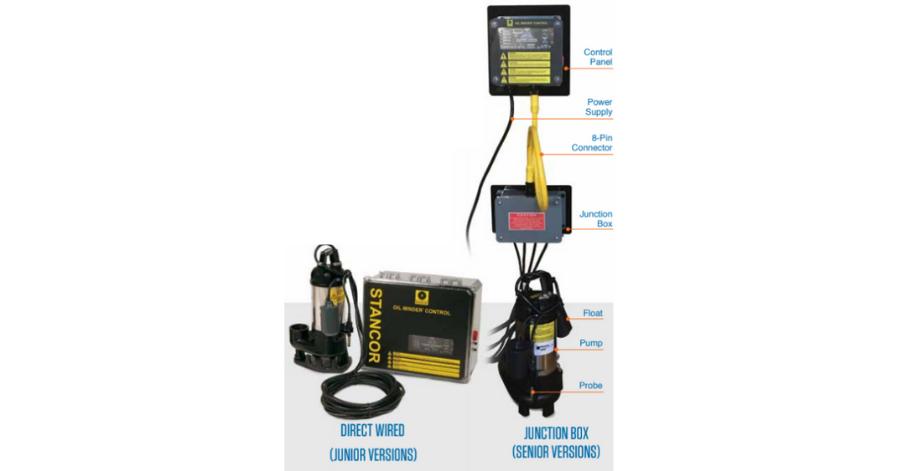 IFS Elevator Sump Pump Selection Criteria Oil Minder Juction Box