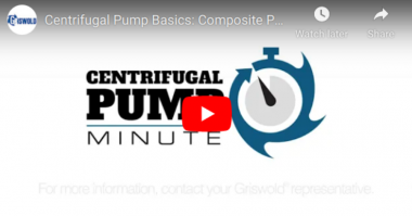 PSG Centrifugal Pump Basics Composite Performance Curves