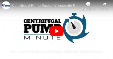 PSG Centrifugal Pump Basics Composite Performance Curves