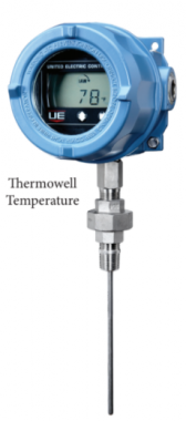 UE Thermowell Temperature