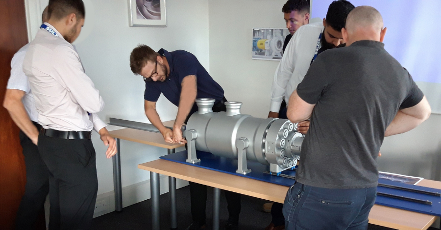 Sulzer Getting to grips with one of the pump models