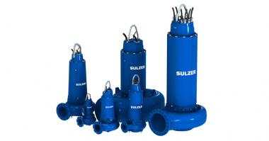 Sulzer submersible wastewater pumps