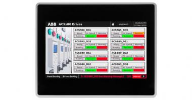 ABB HMI and Drive Faceplates