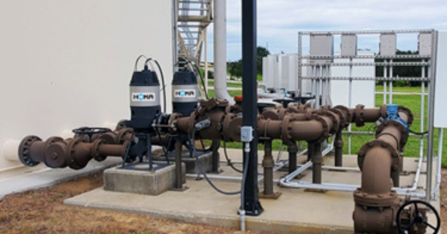 HOMA Low-Maintenance, Low-HP Pumps For Packaged Wastewater Treatment Plants