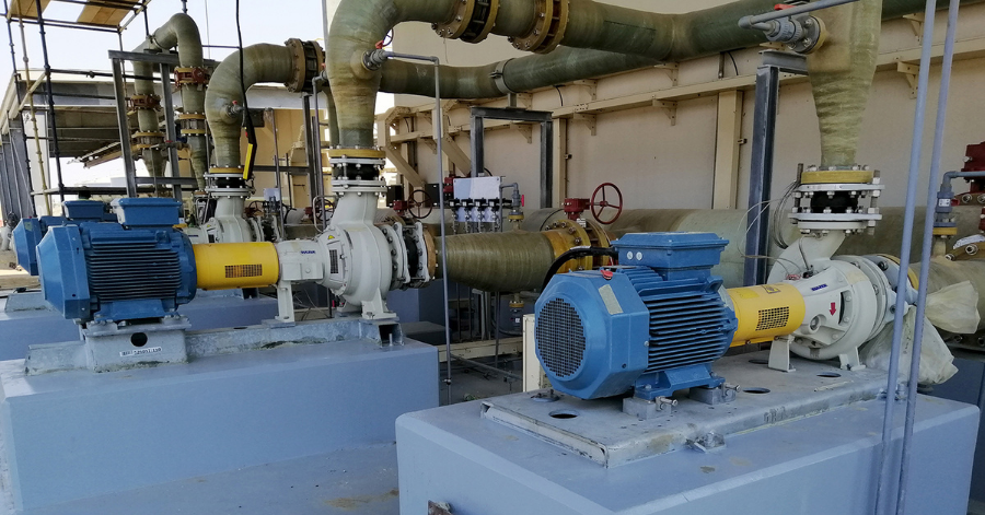 Sulzer fig 3 In total, 289 pumps were delivered by Sulzer for this project
