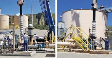 KSB Vertical Turbine Pumps providing efficient transport of produced water California oil producer