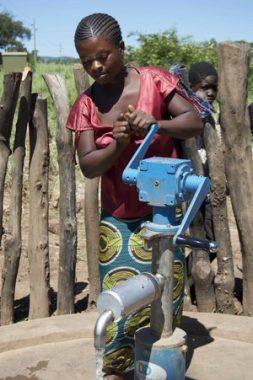 Woman with LifePump