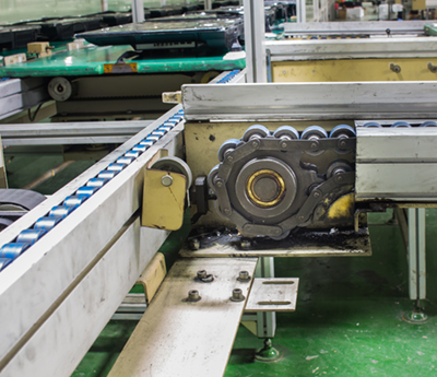 AW Chesterton 650 AML Conveyor chain drive shaft production line of the factory