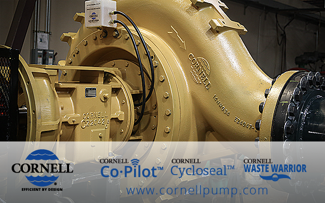 Cornell Pump header