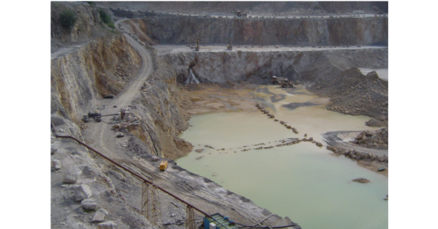 Cornell Mining sites like the quarry shown above can benefit from remote monitoring for pumps that are running while the operation is unmanned during dewatering.