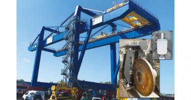 _IIoT Braking Solution For A Port Container Gantry Crane