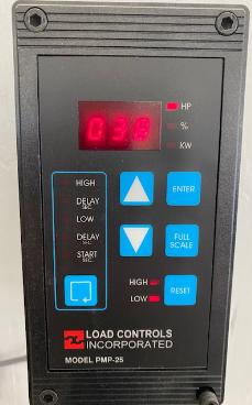 Load Controls PMP_25 Pump Control with HP Display sensors